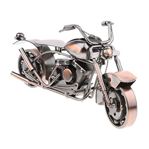 Backbayia Miniatur-Motorrad, Kunst-Skulptur, Spielzeug, Modellbau, Motorräder, Dekoration, Weihnachtsgeschenk
