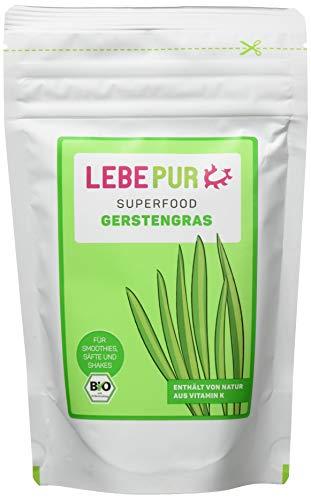 Lebepur Smoothiepulver Gerstengras - 6 Standbeutel à, 750 g