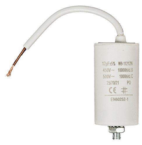 Fixapart - Condensador 12.0Uf / 450 V + Cable