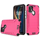 2. AmeriCase   Coolpad SUVA (CP3669AANB)   Phone Case [Brushed] Shockproof Protective Defender Cover for Boost Mobile Coolpad SUVA (Hot Pink)