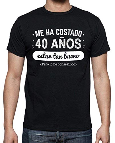 latostadora Camiseta 40 Años para Estar Tan Bueno v2, 1978 - Camiseta Hombre clásica