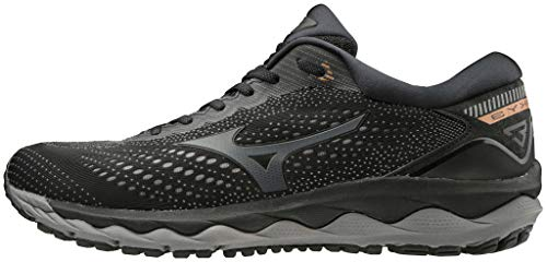Mizuno J1Gc19026145 - Zapatilla Wave Sky 3 - Color: Blk/Dark Shadow/10135 C Talla: 45 - Hombre