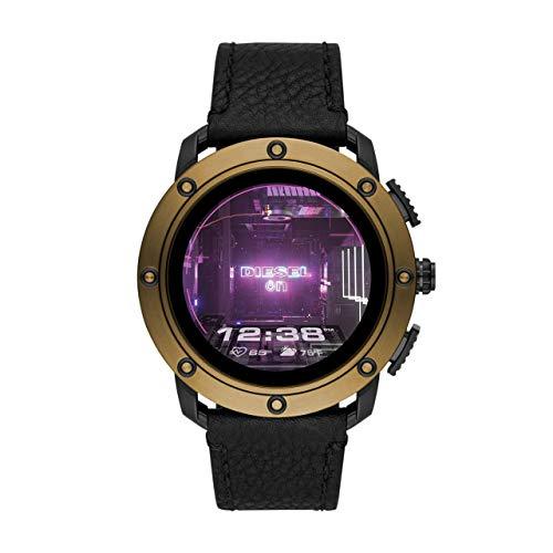DIesel - reloj inteligente para hombre con pantalla táctil y correa de piel DZT2016 (renovado)