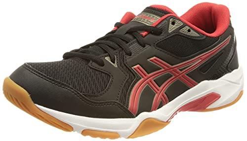 ASICS Gel-Rocket 10, Chaussure de Volleyball Homme, Black Electric Red, 39 EU