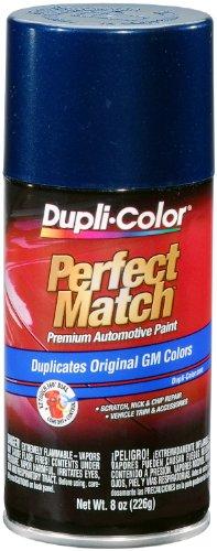 Dupli-Color Paint BGM0506 Dupli-Color Perfect Match Premium Automotive Paint; Indigo Blue Metallic; Paint Code 9792; 8 oz. Aerosol;