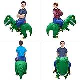 Zoom IMG-2 cestmall costume da dinosauro gonfiabile