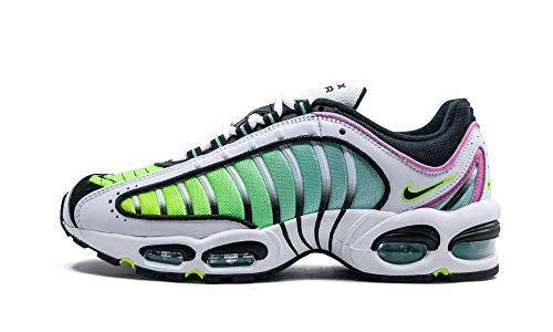 Nike Herren Air Max Tailwind Iv Laufschuhe, Mehrfarbig Weiß Schwarz Rosa Grün (Multicolor White Black China Rose Aurora Green 103), 41 EU