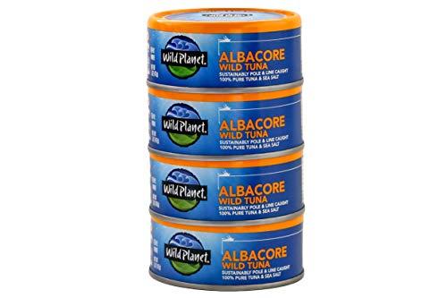 Wild Planet Albacore Wild Tuna, Sea…
