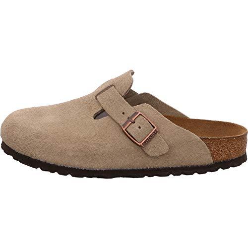 BIRKENSTOCK Boston Soft Footbed Taupe Schuhe-EU 43