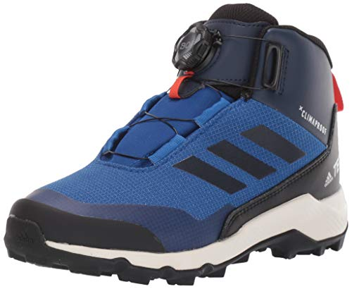 adidas outdoor Unisex-Child Terrex Winter MID BOA Snow Boot, col Royal/Black/col Navy, 5 Child US Big Kid