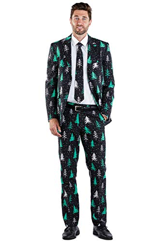 Forest Flex Blazer with Tie: 46