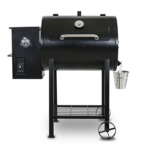 Our #8 Pick is the Pit Boss 700FB Pellet Smoker