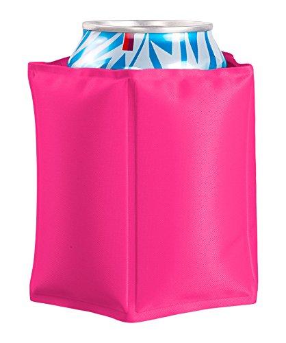Vin Bouquet FIE 174 Kan koeler roze. Koeltas met klittenband en gel voor blikjes en flessen.
