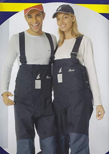 Le Marin zeilbroek, maat XL blauw 100% waterdicht regenbroek broek broek matschbroek broek
