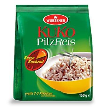 Kuko Pilz Reis, 2 Beutel je 150g, 5 Minuten fertig
