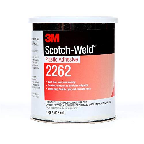3M Plastic Adhesive 2262, Clear