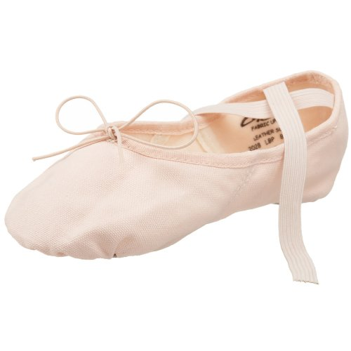 Capezio Women's Canvas Juliet Ballet Shoe,Light Ballet Pink,5 M US