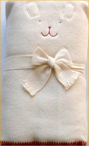 ブランケット ベビーブランケット オーガニックコットン 綿毛布 おくるみアフガン ベビーケット  何でもケット 掛け物 寝具 ベビー寝具=日本製 ベビー用品=出産祝い ギフト (アイボリー)