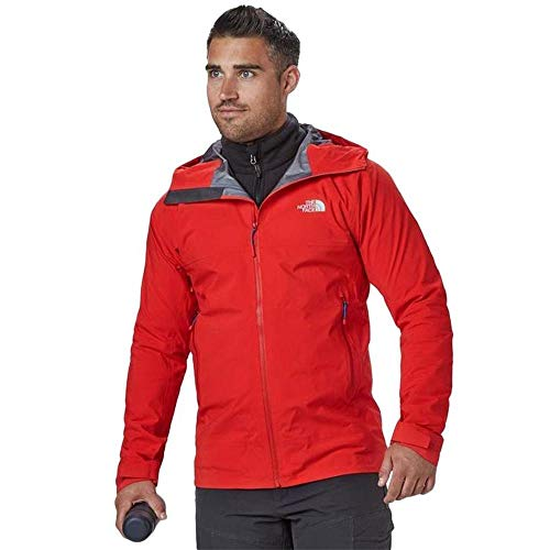 THE NORTH FACE W Point Five Jacke, Herren XL Knallrot