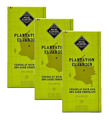 Michel Cluizel Bar Schokolade Dunkel 69% aus Kolumbien Plantage