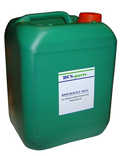 Aceite para cadenas de motosierra BIO, 5 litros