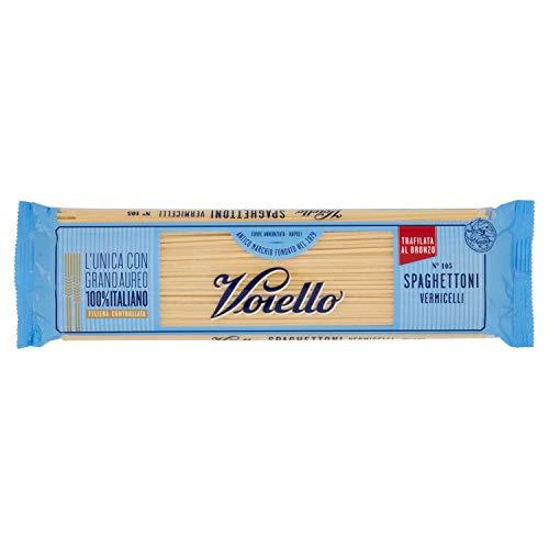 Voiello Pasta Spaghettoni, Pasta Lunga di Semola Grano Aureo 100% - 500 g