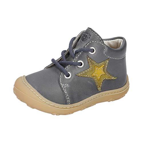 RICOSTA Unisex - Kinder Lauflern Schuhe Romy von Pepino, Weite: Mittel (WMS), Kids junior Kleinkinder Kinder-Schuhe Spielen,See,24 EU / 7 Child UK