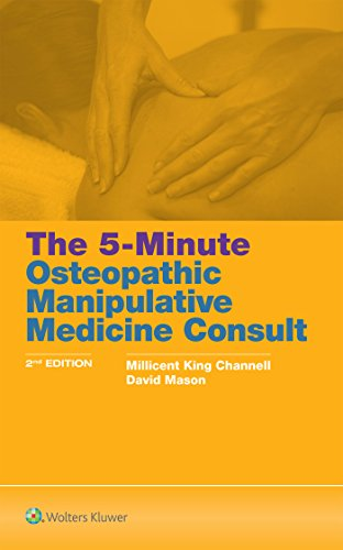 The 5-Minute Osteopathic Manipulative Medicine Consult