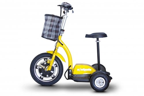 Our #5 Pick is the E-Wheels EW-18 Electric Scooter with Seat