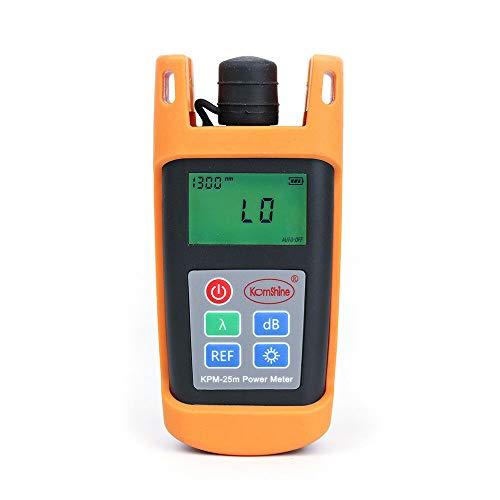 Optische vermogensmeter -70 dBm ~ + 6 dBm optische glasvezel SC FC ST kabeltest.