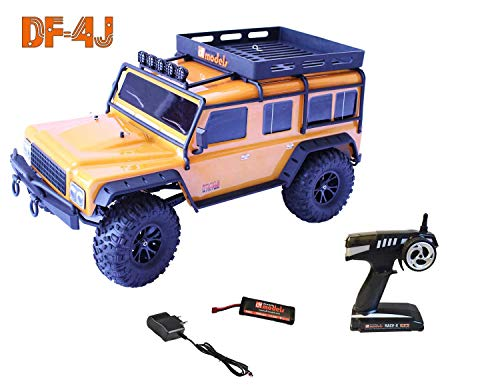 Crawler DF-4J, 4WD brushed, 1:10 XXL, RTR DF-4J Crawler XXL - RTR DF-MODELS 3014