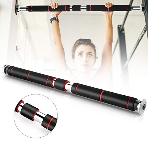 Pull Up Bar for Doorway with 26 to 39 Inches Adjustable Width | Chin Up Bar Non Slip Heavy Duty for Home Gym Exercise Fitness, Load Capacity Up to 220lbs