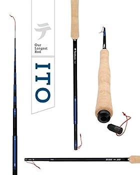 Tenkara USA ITO Adjustable tenkara Rod  13  and 14 7   - Multi-Length Telescopic Rod