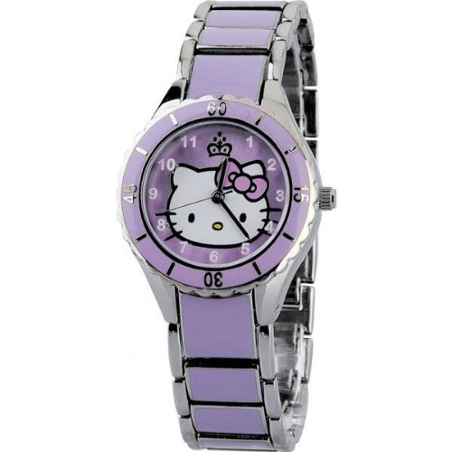 GENUINE HELLO KITTY ENAMEL CORONATION WATCH ZR25617