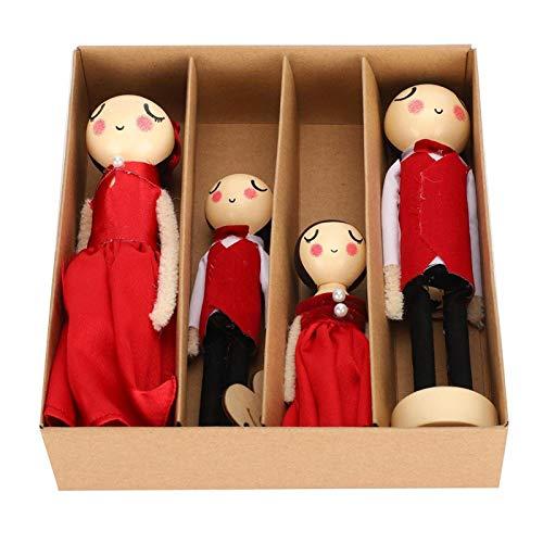 Holzpuppe, Firma, für Familie zum Geburtstagsgeschenk
