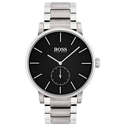 Hugo BOSS Reloj Análogo clásico para Hombre de Cuarzo con Correa en Acero Inoxidable 1513501
