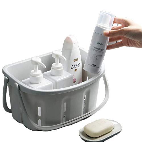 Shower Caddy - Bath Shower Caddies with Handle - Shower Organizer SoftGrip...
