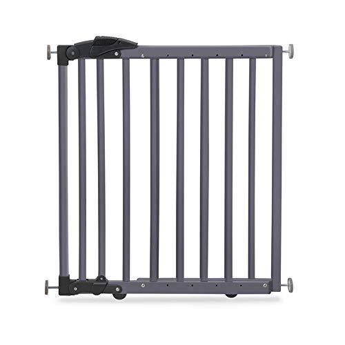 Geuther 2714 GU Türschutzgitter zum Klemmen oder Schwenken 2in1, 2714, In Verstellbereich, 68 - 102 cm, grau, 3.9 kg