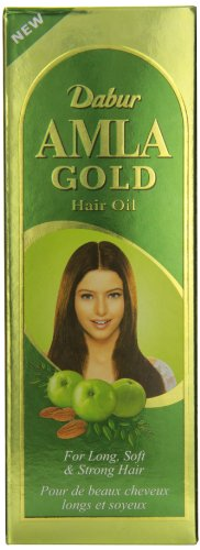 Dabur Amla Gold Hair Oil, 300-ml Bo…