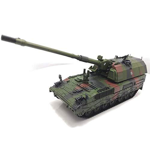 YWJHY Army Main Battle Panzerhaubitze 2000 Panzerhaubitze Maßstab Militär 1:72 Alloy Plastic Model,Als anzeigen,Einheitsgröße