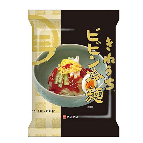 サンサス ビビン冷麺(1食入り、スープ付)12パック BIB12