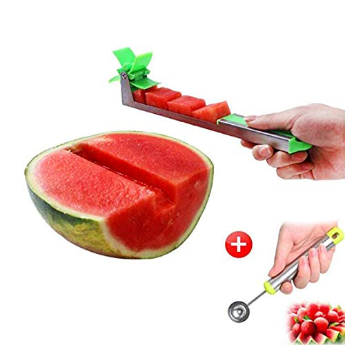 Watermelon Slicer Cutter - Stainless Steel...