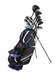 powerful A complete set of 19-piece golf club kits for men with a titanium screwdriver, 3 fairway trees and 3-4-5 …