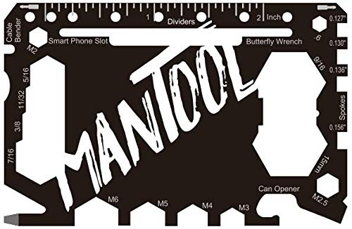 MANTOOL – Multitool – 46 Werkzeuge in 1