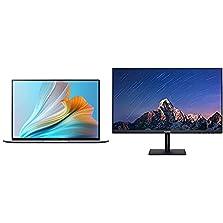 "HUAWEI MateBook X Pro 2021 - 11th Gen Intel i5-1135G7, 16 GB RAM, 512 GB NVMe PCIe SSD, HUAWEI Share, HUAWEI Free Touch, Space Grau + Display 23.8"", 60 cm (23,8 Zoll), Full HD FullView Monitor©Amazon"