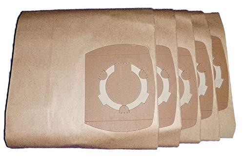 5 bolsas para aspiradora adecuadas para Parkside PNTS 1300 C3