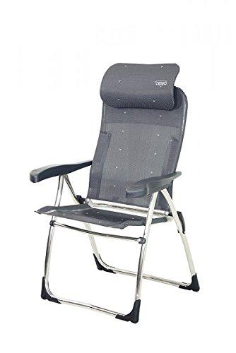 Ligero–plegable de aluminio Quick–1,5kg–Color: Taupe–Jankurtz–Silla de exterior. Tiempo libre silla sol–Silla–Distribución–Holly Sunshade–En...