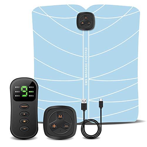 スタイルマット EMSフットフィット 美脚トレーニング ワイヤレスリモコン 強度調節 携帯便利 男女兼用 USB充電 日本語説明書付き