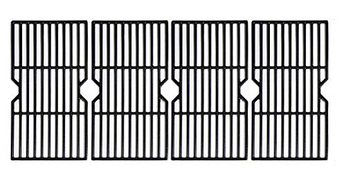 Hongso 16 7/8' Porcelain Enamel Cast Iron Cooking Grates Grill Grids Replacement for Gas Grill Charbroil 463230510, 463230511, 463230512, 463230513, 463230514, 463230710, 463234511, Kenmore, PCH764