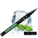 Liquid Eyeliner with Castor Oil for Eyelash Growth - Waterproof Eyeliner Tip Liquid Brush for Perfect Eyes and Long Lashes - Gel Eyeliner - Eyeliner Liquid Pen